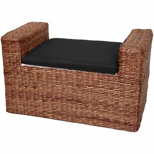 Beachcrest Home Kianna Upholstered Storage Bench