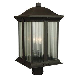 Charlton Home Oakhill Outdoor 3-Light Post Light