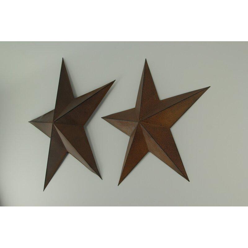 Rosalind Wheeler 2 Piece Barn Star Wall