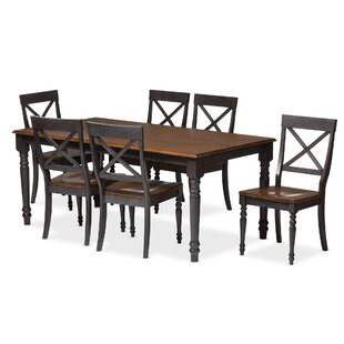 Santucci 7 Piece Dining Set Latitude Run