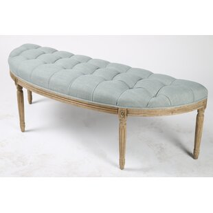 Lafontaine Demilune Upholstered Bench by Blink Home