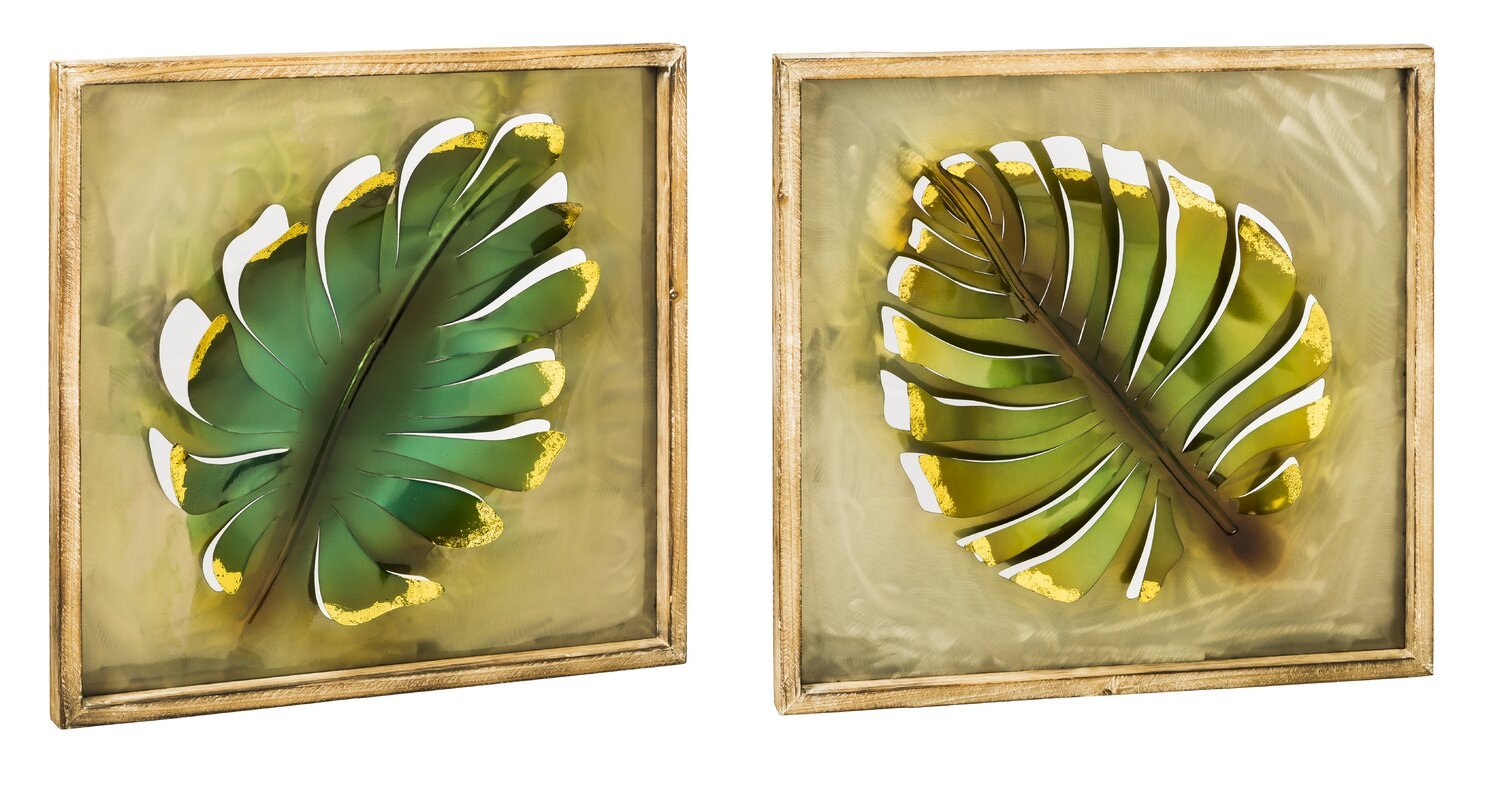 Amazing Banana Leaf Wall Decor Embellishment - All About Wallart ...