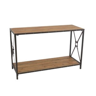 Crosson Wood/Metal Console Table