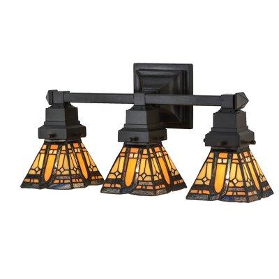 Sierra Prairie Mission 3-Light Vanity Light Meyda Tiffany