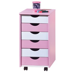 Rose 6 Drawer Chest By Just Kids