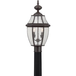 Comparison Mellen 2-Light Lantern Head By Three Posts