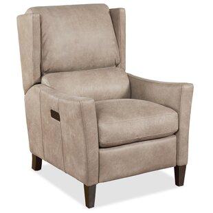 Larkin Leather Power Recliner Hooker Furniture