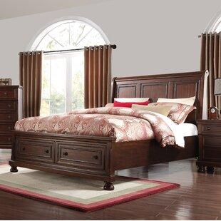 Charlton Home Estefania Storage Sleigh Bed