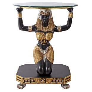 Egyptian Goddess Ma'at Console Table by Design Toscano