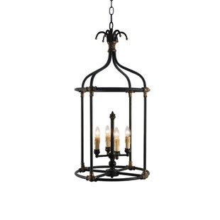 Steinmetz 4-Light Chandelier by Bay Isle ..