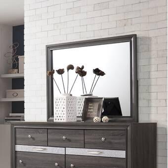 Red Barrel Studio Arabel Modern Dresser Mirror Wayfair
