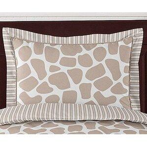 giraffe standard pillow sham
