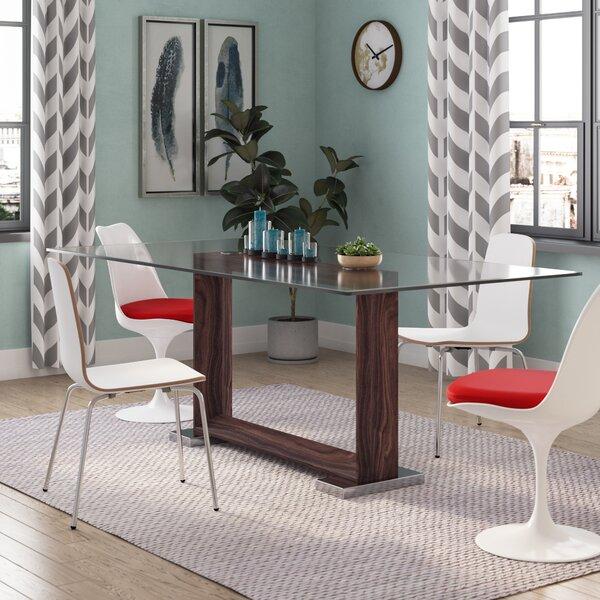 Brayden Studio Hecht Dining Table Amp Reviews Wayfair
