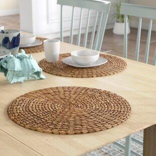 Round Table Placemats.Placemat For Round Table Table Design Ideas