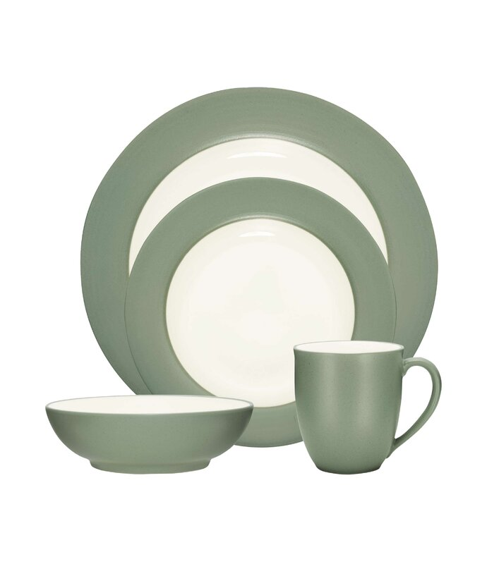 Colorwave Rim 4 Piece Place Setting Service for 1  sc 1 st  Wayfair & Noritake Colorwave Rim 4 Piece Place Setting Service for 1 ...