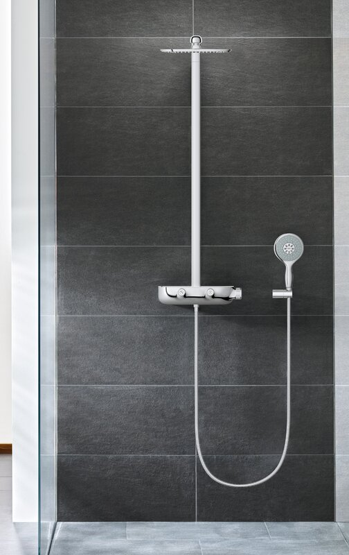 Grohe Smart Control Complete Shower System & Reviews | Wayfair
