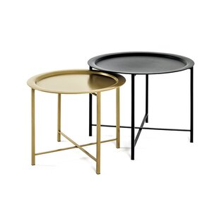 Albin 2 Piece Nest Of Tables By World Menagerie