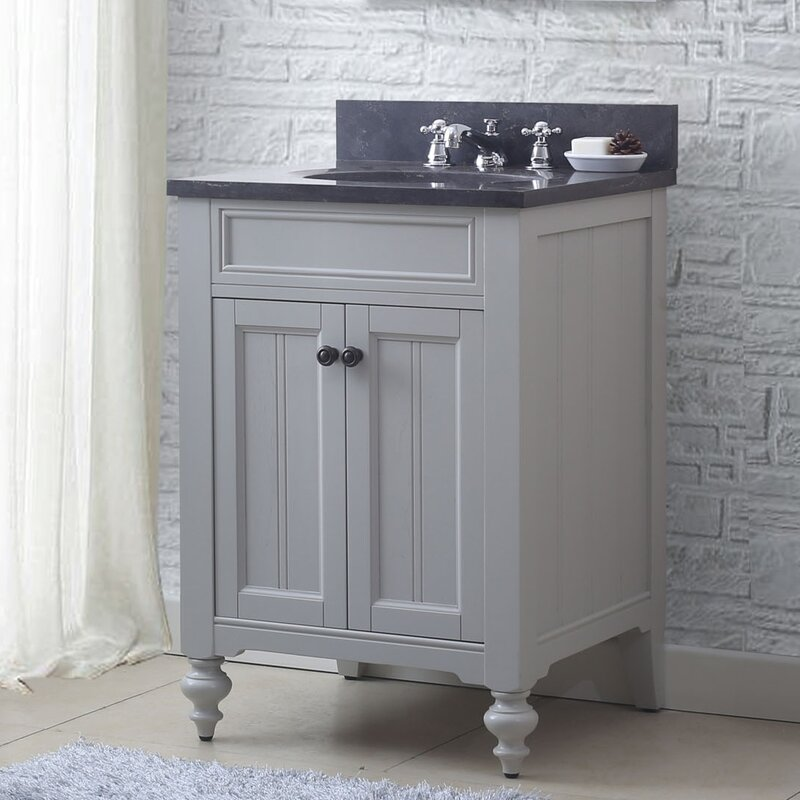 "Darby Home Co Cabery 24"" Single Bathroom Vanity Set with ..."