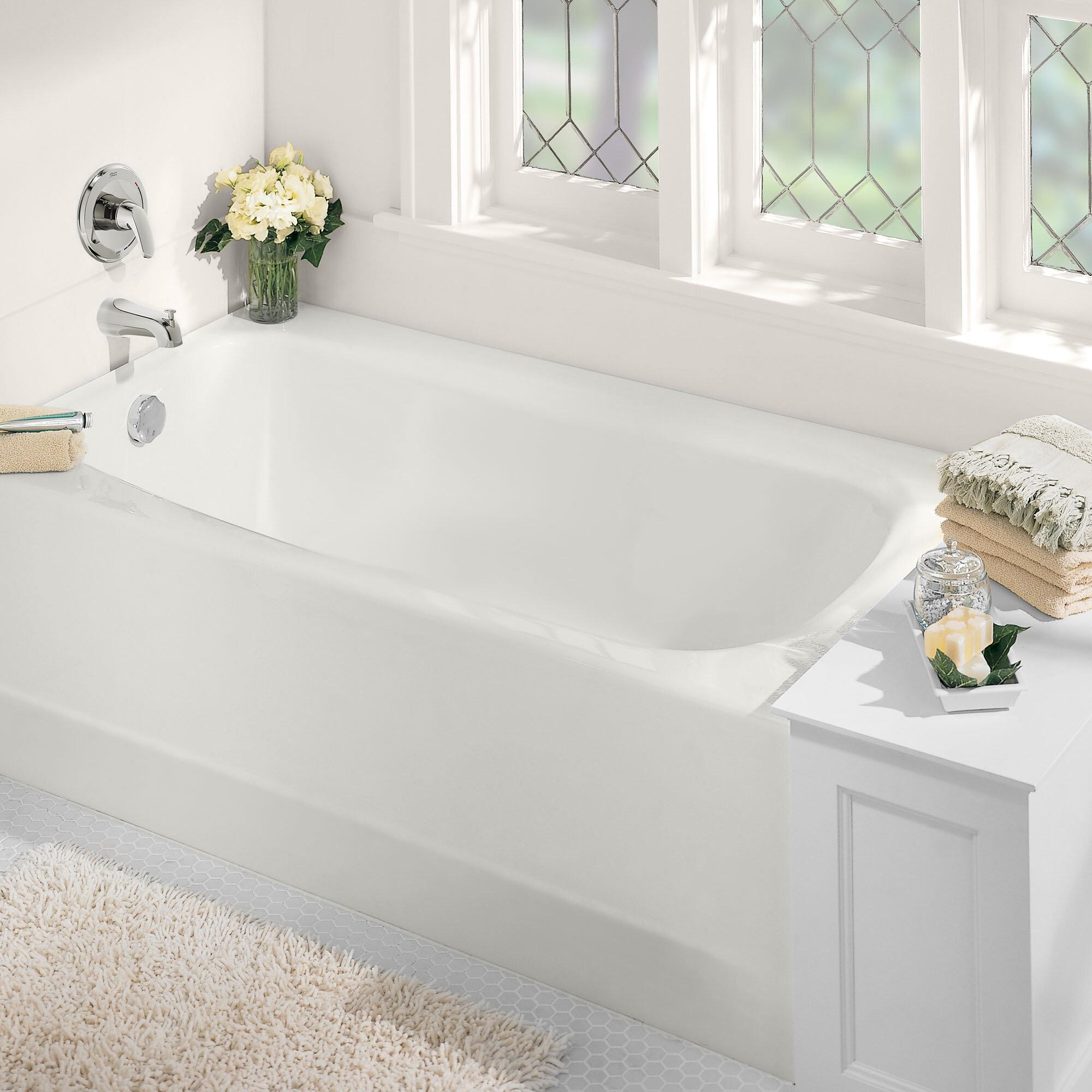 American Standard Cambridge 60 X 32 Alcove Soaking Americast Bathtub Reviews