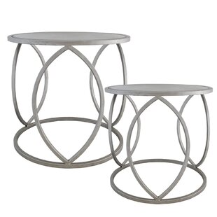 Savings Allston 2 Piece End Table Set by Import Collection