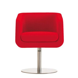 Ro Swivel Arm Guest Chair by Segis U.S.A