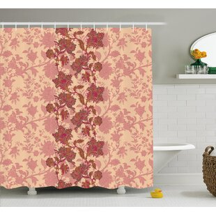 Armando Vibrant Colored Pattern Shower Curtain + Hooks