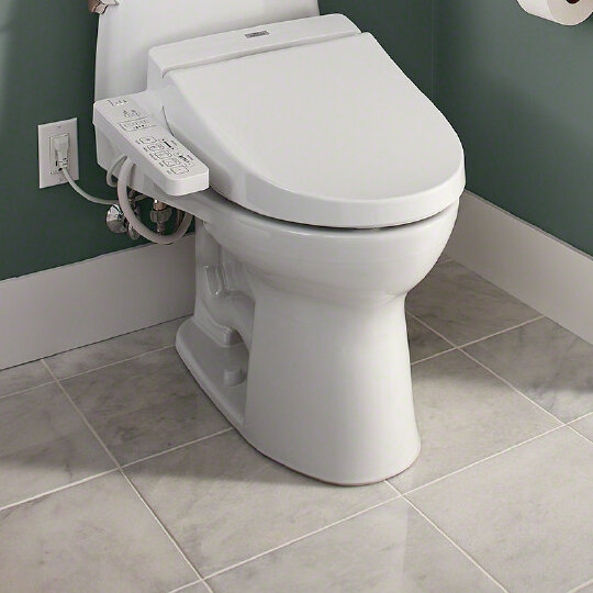 Wayfair Toto Washlet C100 Toilet Seat Bidet