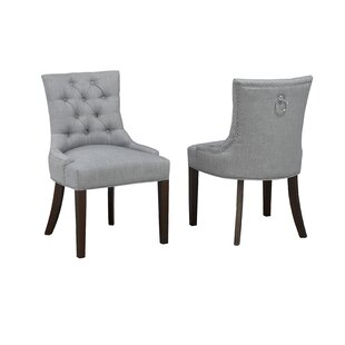 Letitia Upholstered Dining Chair (Set of 2) DarHome Co