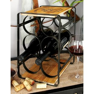 6 Bottle Tabletop Wine Rack by Cole & Grey