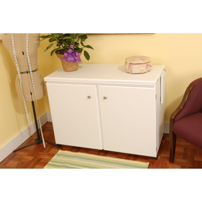Arrow Sewing Cabinets Bertha Sewing Cabinet Reviews Wayfair Stunning Bertha Sewing Machine Cabinet