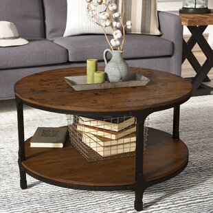 Carolyn Round Coffee Table by Laurel Foundry Modern Farmhouse