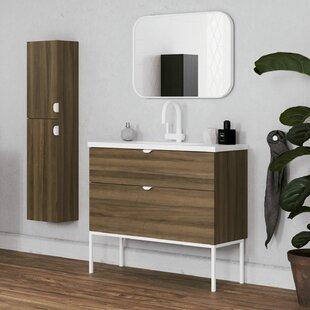 Bronx Murrah 813mm Free-standing Single Vanity Unit By Ebern Designs