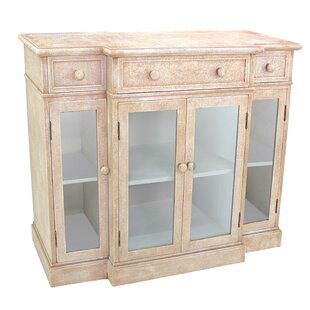 Mcclendon Distressed 4 Door Accent Cabinet by Rosecliff Heights