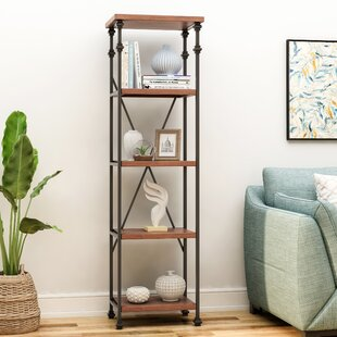 Sarina 4 Shelf Etagere Bookcase
