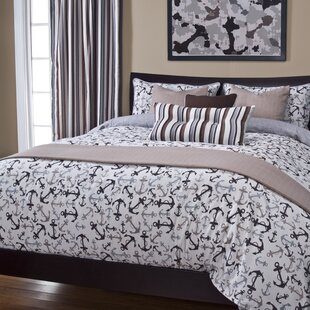 Longshore Tides Renate Anchor's Away Duvet Cover Set