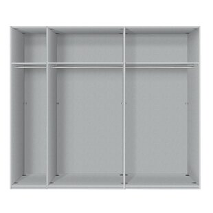 Barnaby 2 Door Sliding Wardrobe By Ebern Designs
