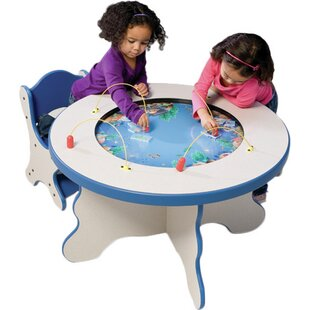 Seascape Kids Round Activity Table by Playscapes