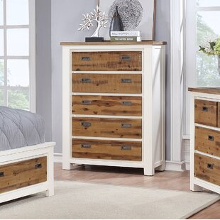 Millwood Pines Favela 5 Drawer Chest