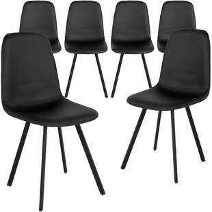 Great deal Imboden Upholstered Dining Chair (Set of 6) by Ebern Designs Reviews (2019) & Buyer's Guide