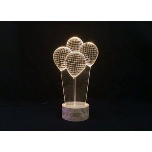 Balloons LED Illusion 9 Table Lamp