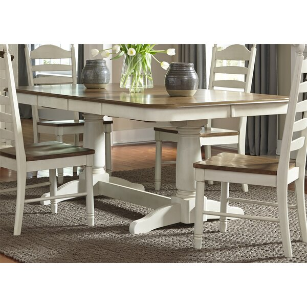 Rosecliff Heights Ruskin 5 Piece Solid Wood Dining Set Reviews Wayfair
