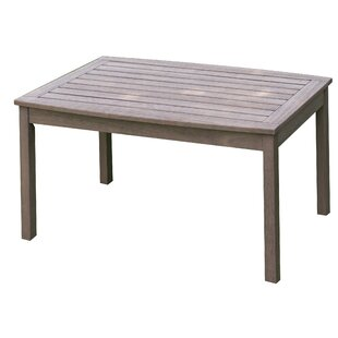 Englewood Solid Wood Coffee Table