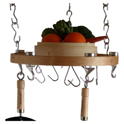 Track Rack Round Ceiling Hanging Pot Rack Taylor & Ng