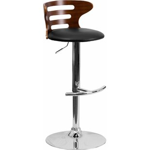 Crotty Adjustable Height Swivel Bar Stool..