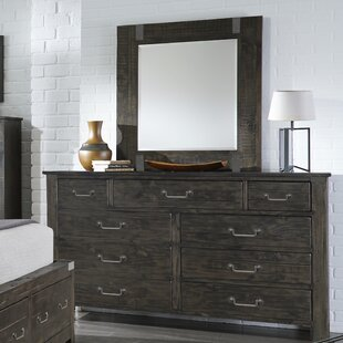 9 Drawer Double Dresser with Mirror by Birch Lane?