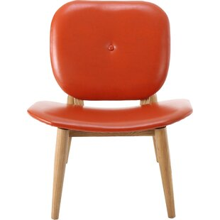 Burnt Orange Leather Chair | Wayfair