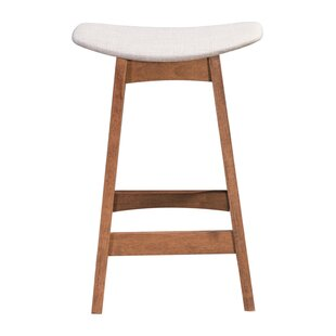 Rosalina 25.2 Bar Stool (Set of 2) Ebern Designs