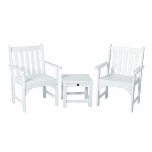 Vineyard 3-Piece Garden Chair Set by POLYWOOD® Looking for