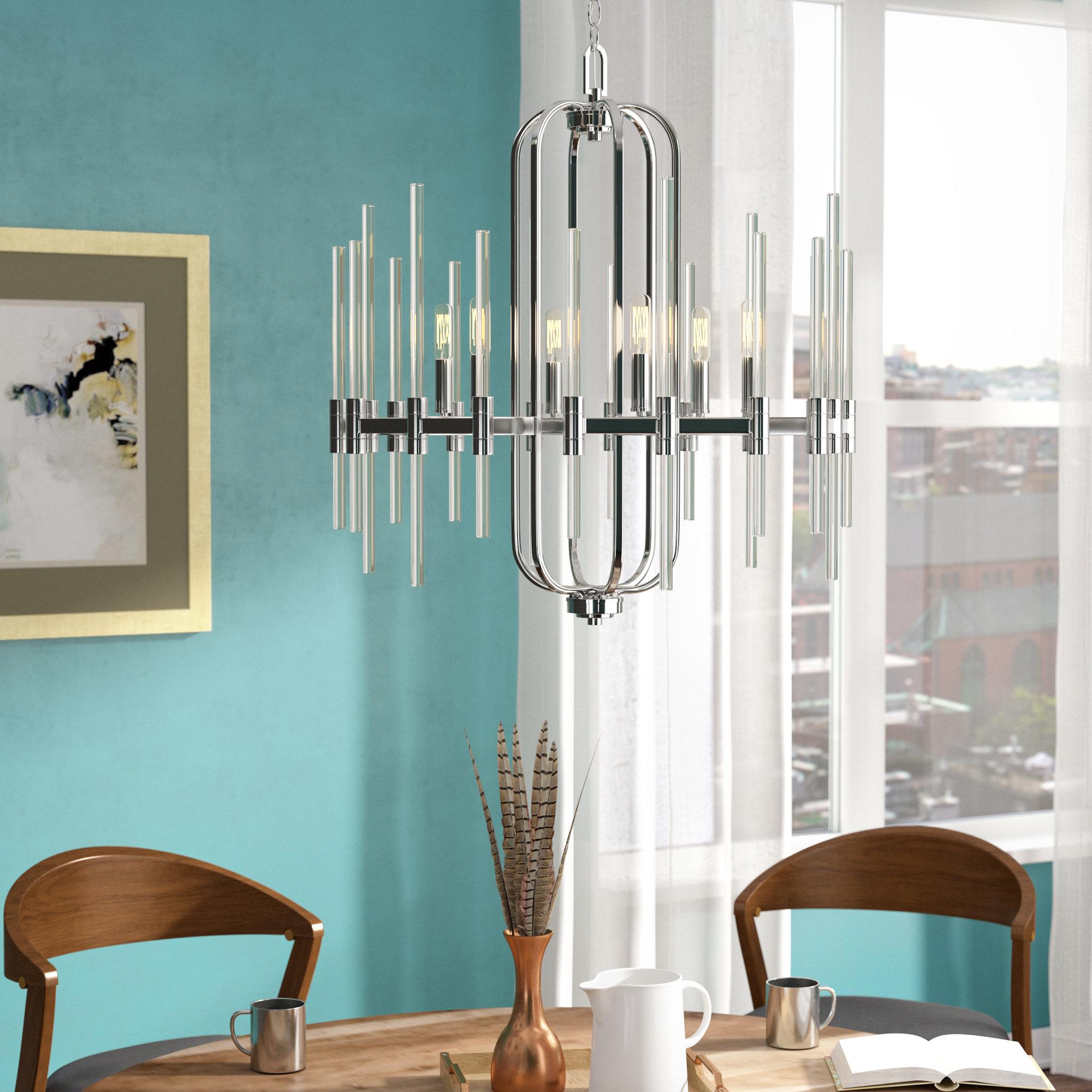Brayden Studio Karn 6-Light Candle-Style Chandelier & Reviews   Wayfair
