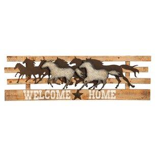 Welcome Home Sign Wayfair